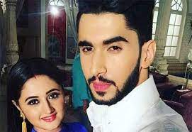 Rashmi Desai with her ex-boyfriend Laksh