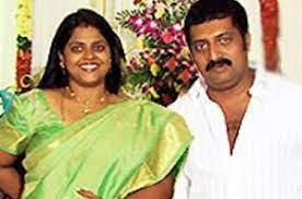 Prakash Raj with his ex-wife Lalitha