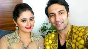 Rashmi Desai with her ex-husband Nandish