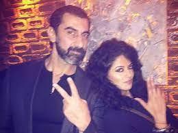 Kavita Kaushik with her ex-boyfriend Nawab