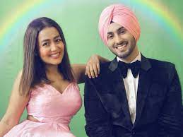 Rohanpreet Singh with his wife Neha