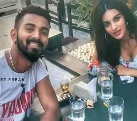KL Rahul with his ex-girlfriend Nidhi