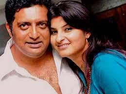 Prakash Raj with his wife Pony