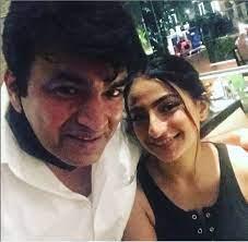 Palak Tiwari with her father Raja