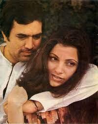 Dimple Kapadia with her husband Rajesh