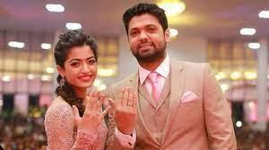 Rashmika Mandanna with her ex-boyfriend Rakshit