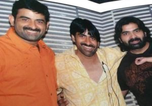 Ravi Teja with his brothers