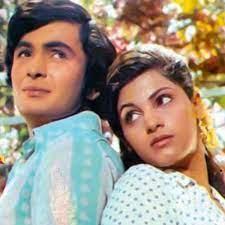 Dimple Kapadia with her ex-boyfriend Rishi