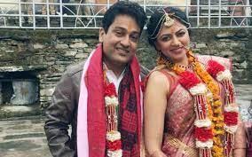 Kavita Kaushik with her husband Ronnit