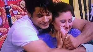 Rashmi Desai with her ex-boyfriend Siddharth