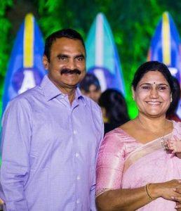 Sneha Reddy's parents