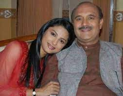 Rucha Hasabnis with her father