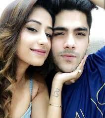 Simba Nagpal with his girlfriend
