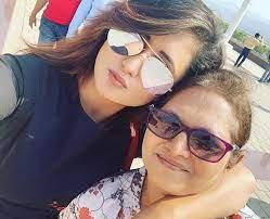 Rashmi Desai with her mother