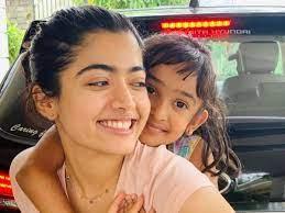 Rashmika Mandanna with her sister