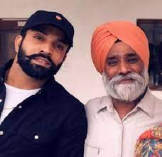 Dilpreet Dhillon with his father