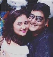 Rashmi Desai with her brother