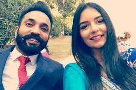 Dilpreet Dhillon with his wife