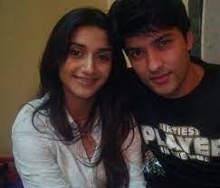Rati Pandey with her ex-boyfriend