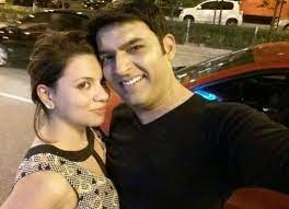 Preeti Simoes with her ex-boyfriend