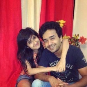 Neha Narang with her husband