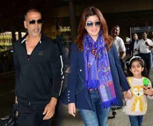 Nitara Kumar with her parents