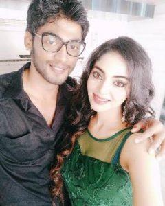 Sanam Shetty with her boyfriend