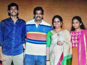 Chirag Shetty with his family
