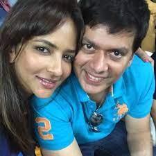 Lakshmi Manchu with her husband Andy