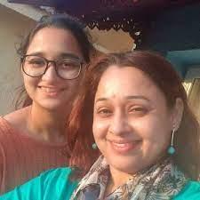 Sonalika Joshi with her daughter Arya