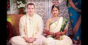 Lakshmi Manchu with her ex-husband London