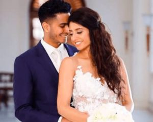 Arjun Coomaraswamy with his wife