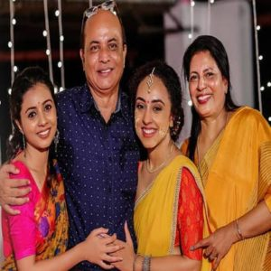 Pearle Maaney with her family