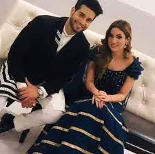 Abhishek Malik with his girlfriend Suhani