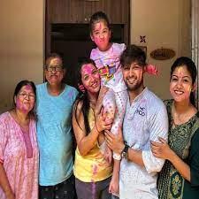 Vatsal Sheth with his family