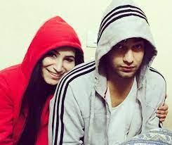 Abhishek Malik with his sister