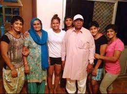 Vinesh Phogat with her family