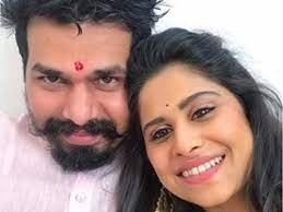 Sai Tamhankar with her brother