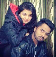 Roshni Sahota with her brother