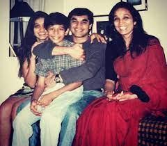 Arjun Coomaraswamy with his family