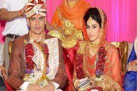 Rohit Kumar with his ex-wife Lalita