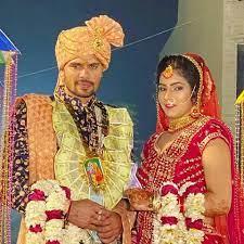 Rohit Kumar with his wife Priya