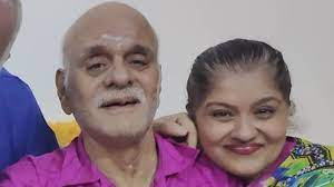 Sudha Chandran with her father