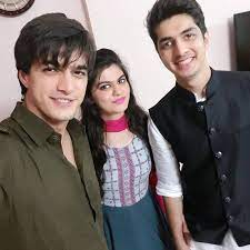 Mohsin Khan with his brother & sister
