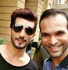 Arjun Bijlani with his brother