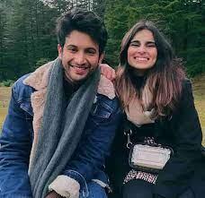 Aisha Ahmed with her boyfriend