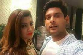 Sidharth Shukla with his ex-girlfriend Akanksha