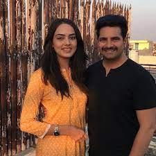 Karan Mehra with his ex-girlfriend Himanshi