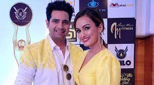 Karan Mehra with his ex-wife Nisha