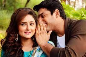 Sidharth Shukla with his ex-girlfriend Rashami
